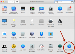 Accessibility in Mac
