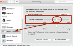 Mouse and Trackpad in Mac