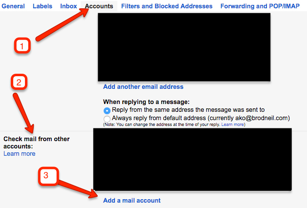 Gmail Account - Check Mail - Add Mail Account