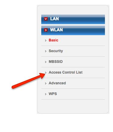 6 Click Access Control List brodneil.com