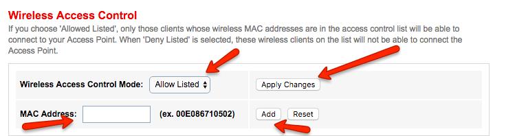 7 Add Mac Address brodneil.com