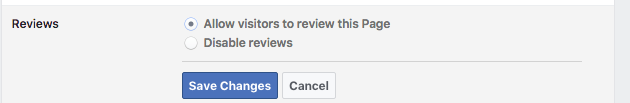 step 3 to activate fb review