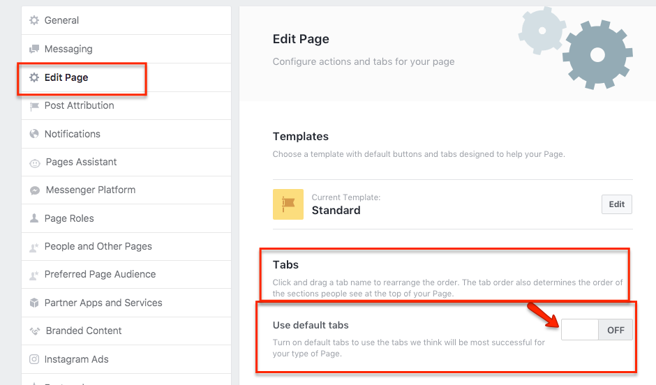 step 4 to activate fb review