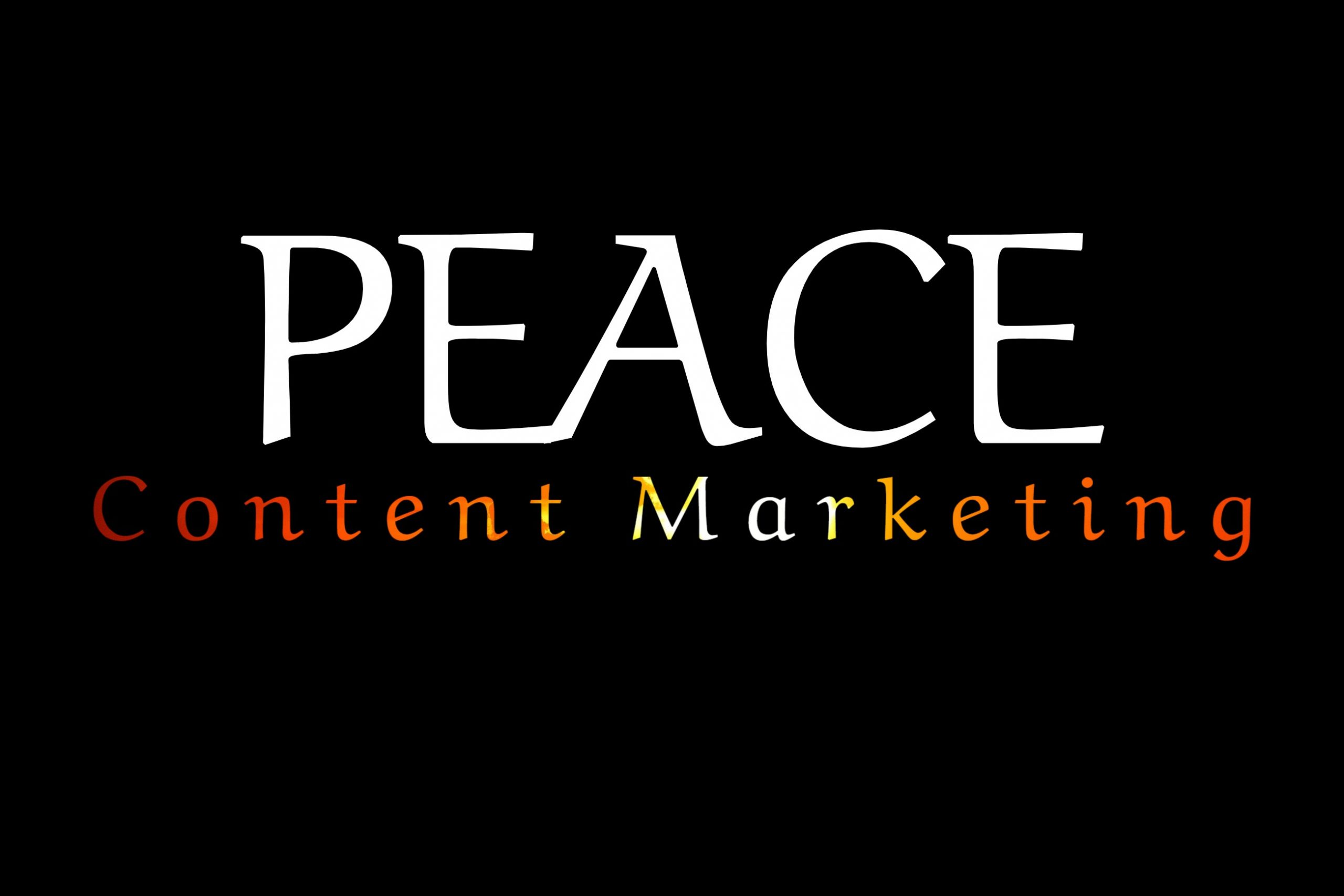 PEACE Content Marketing