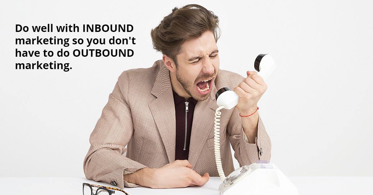 Business Quote: Inbound Vs. Outbound 1