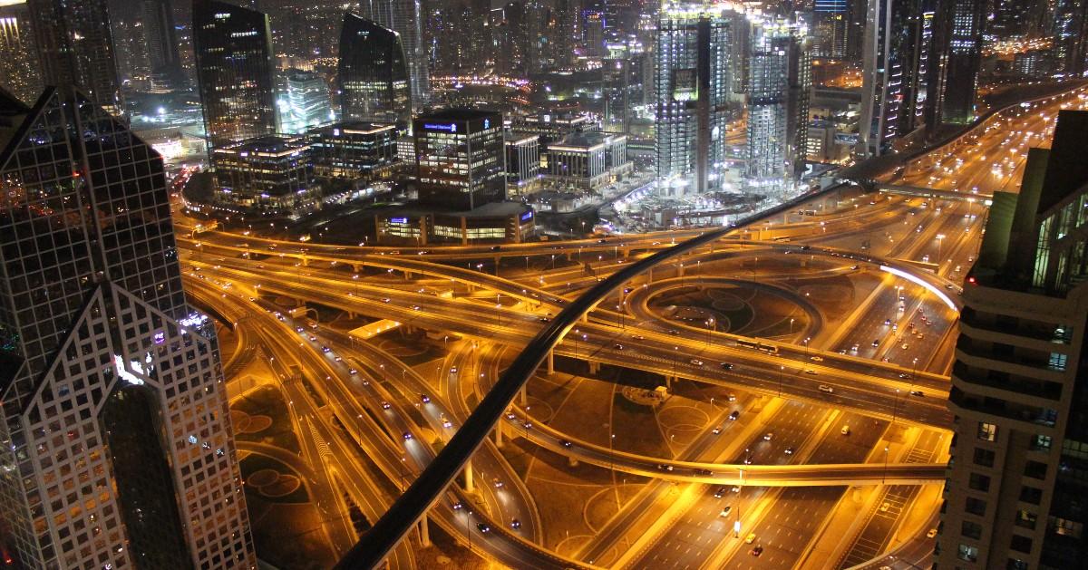 BeFunky-night traffic