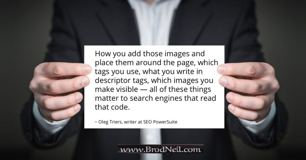 quote on SEO - images