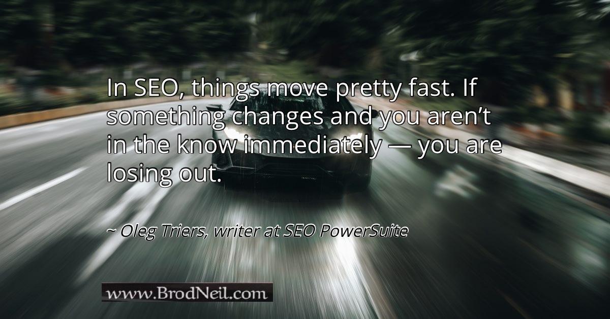 quote on SEO