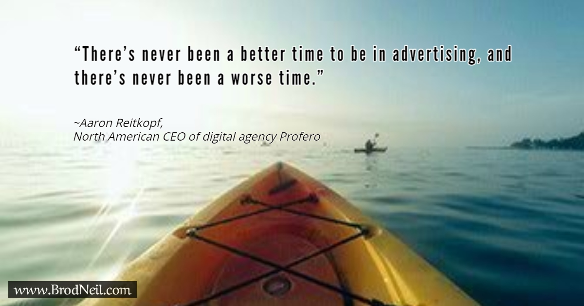 Quote on advertising