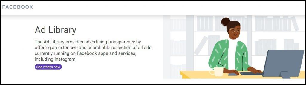 FB ads library logo