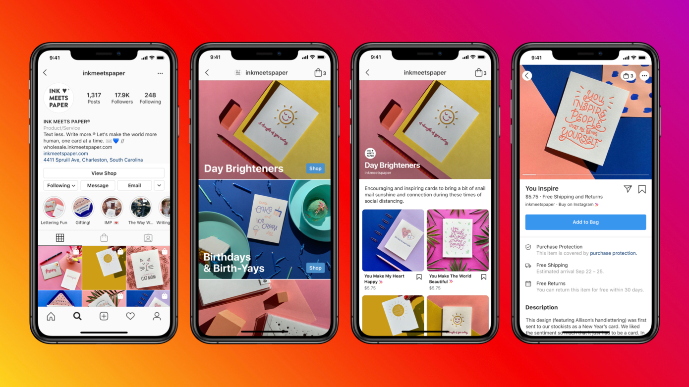 Instagram Launches Ads in Instagram Shop Tab 1